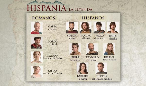 hispania la leyenda busca actores extras Hispania, la leyenda busca actores para su segunda temporada