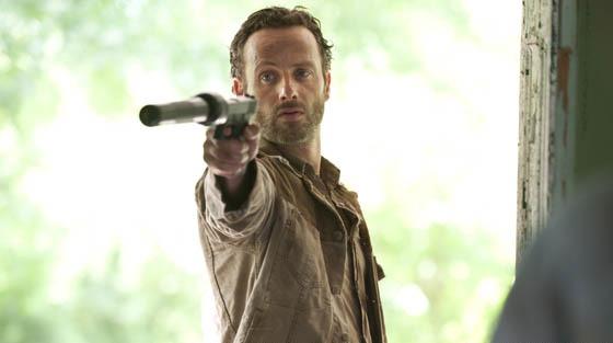 rick11 Primeras fotos promocionales de The Walking Dead