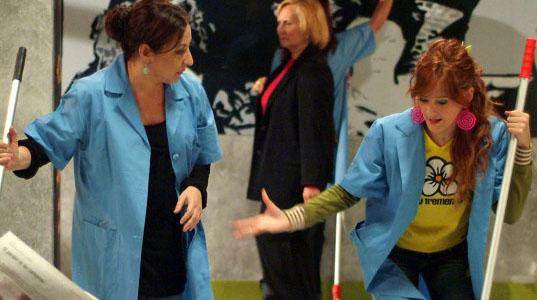 Carmen Machi y Ana Polvorosa Reencuentro de Carmen Machi y Ana Polvorosa en Fenómenos