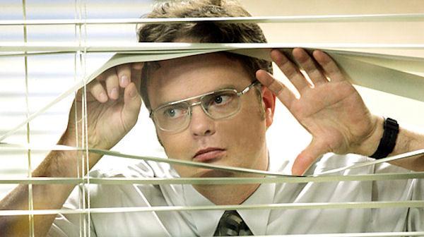 Rain Wilsonn interpreta a Dwight