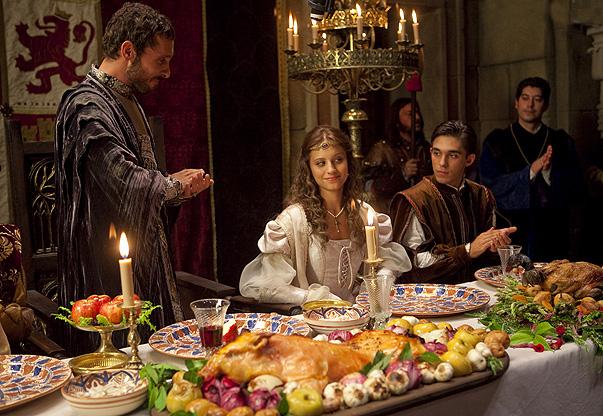 Escena de la serie 'Isabel' que lideró su franja de emisión.