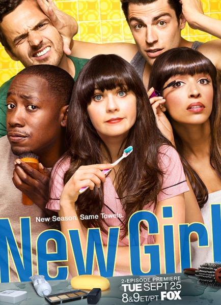 jess1 Primera promo de la season 2 de New Girl