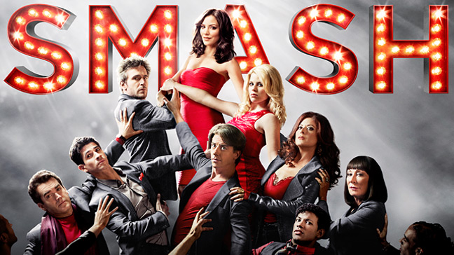 Cartel de la serie musical 'Smash'