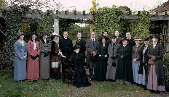 Downton Abbey Copiar ¿Downton Abbey el relevo de Gran Hotel?