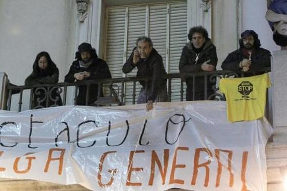Huelga Copiar Series que paran de rodarse para unirse a la Huelga #14N