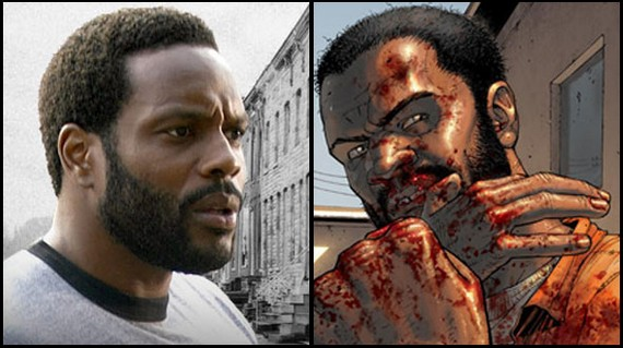 The Walking DEad Copiar Chad Coleman ficha por The Walking Dead
