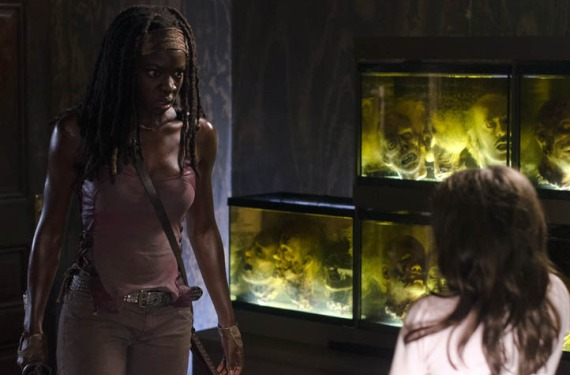 Mich La mid season de The Walking Dead arrasa en EE.UU