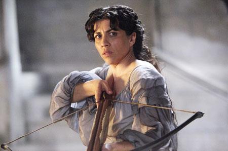 Alicia Borrachero en  'Isabel'.