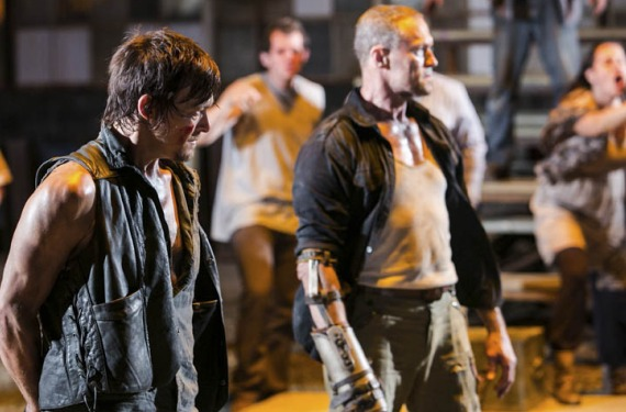 Dixon Pistas sobre la salida de Glen Mazzara de The Walking Dead