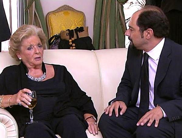 Marisa Porcel y Jordi S%C3%A1nchez en una escena del pr%C3%B3ximo cap%C3%ADtulo de La que se avecina. Marisa Porcel en La que se avecina
