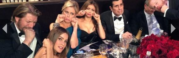 Modern Family Copiar Las sorpresas de los Globos de Oro