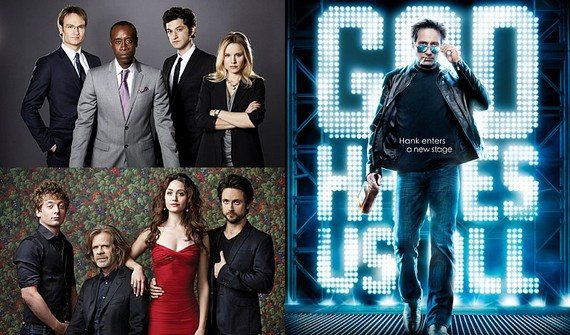 Showtime Copiar Californication, Shameless y House of Lies renovadas gracias a su audiencia