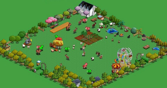 Farmville Copiar Farmville a la pequeña pantalla