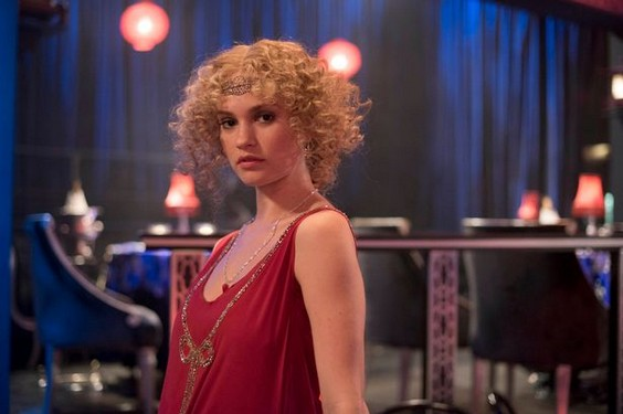 Lily James Copiar Lily James será personaje fijo en la cuarta temporada de Downton Abbey