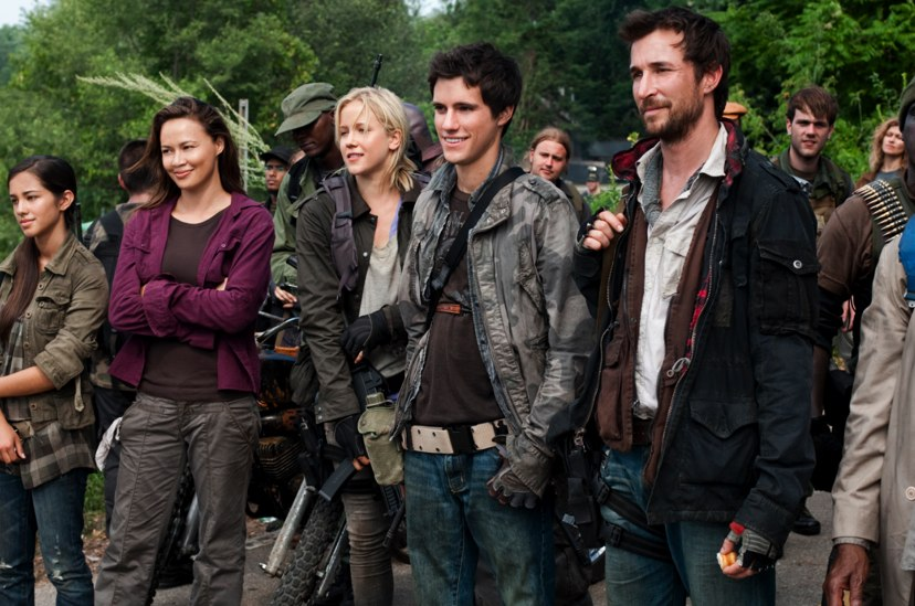 Falling Skies al late night de Cuatro