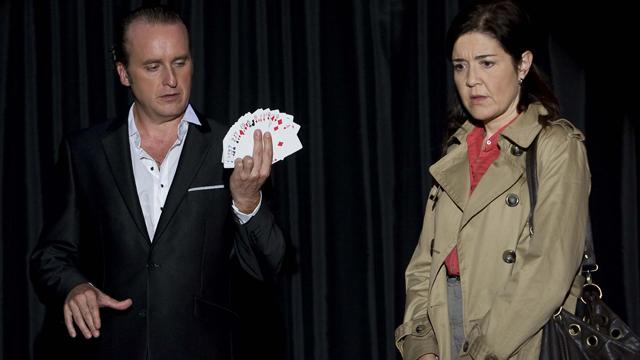Fernando Cayo y María Pujalte en 'Los misterios de Laura'.