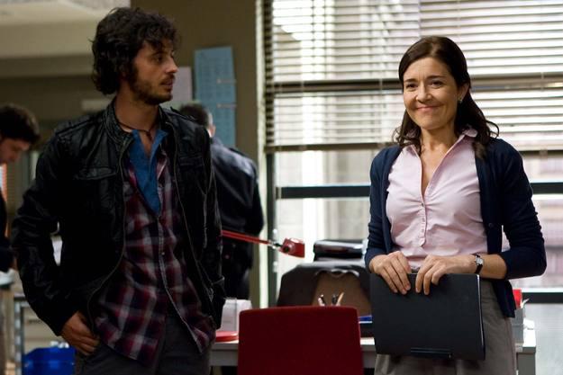 Javier Pereira y María Pujalte en 'Los misterios de Laura'.