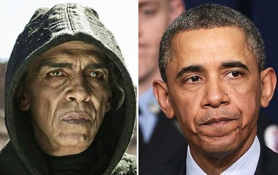 bab ¿Se inspiró The Bible en Obama para uno de sus personajes?