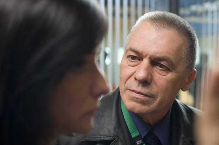 Miguel Ángel Solá y Ana Torrent en la serie 'UCO. Unidad Central Operativa'.