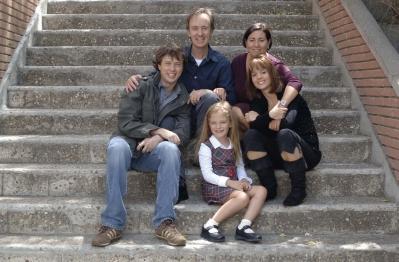 Carlos Hipólito y Luisa Martín son la familia Marcos en 'Desaparecida'.