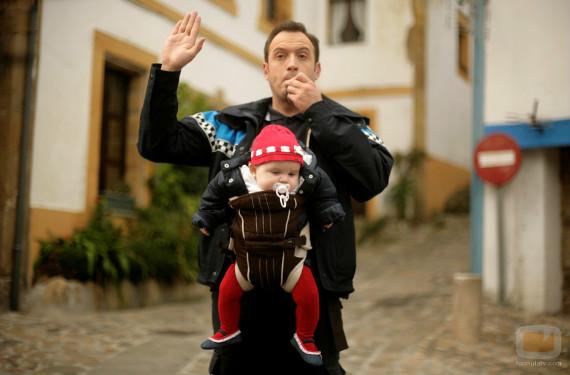 Alfredín, el policía de Doctor Mateo