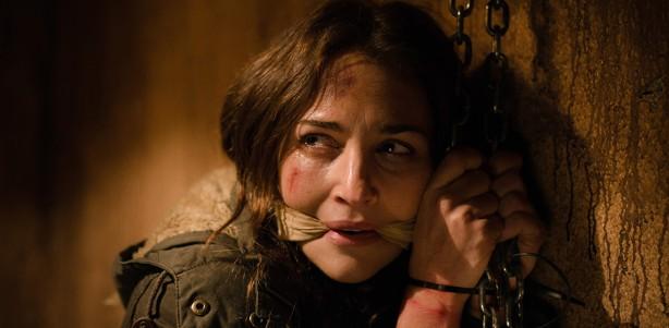 Lucía (Paula Echevarría) secuestrada en 'Gran Reserva'.