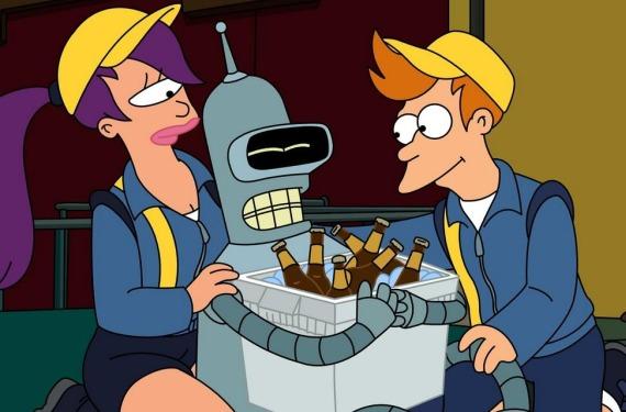 futurama1 No más Futurama en la tele