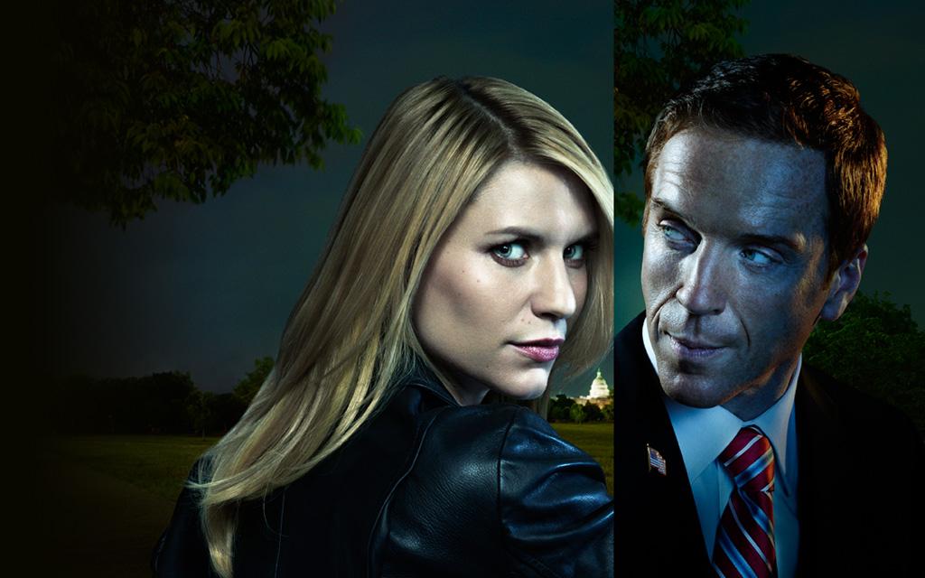 Damian Lewis y Claire Danes en el reparto de la serie 'Homeland'.