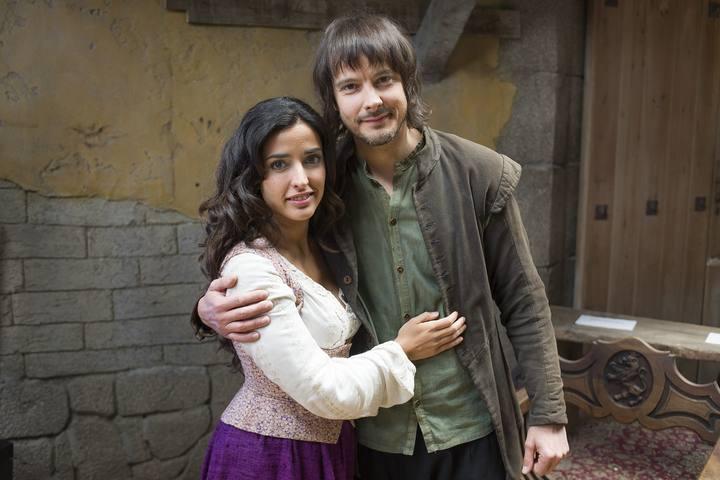 Inma Cuesta y David Janer, Margarita y Águila Roja en la serie de La 1 de TVE.