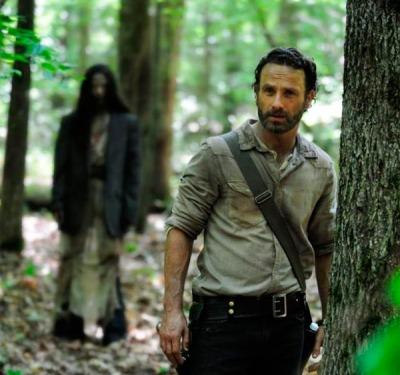 rick Primera imagen de la cuarta temporada de The Walking Dead