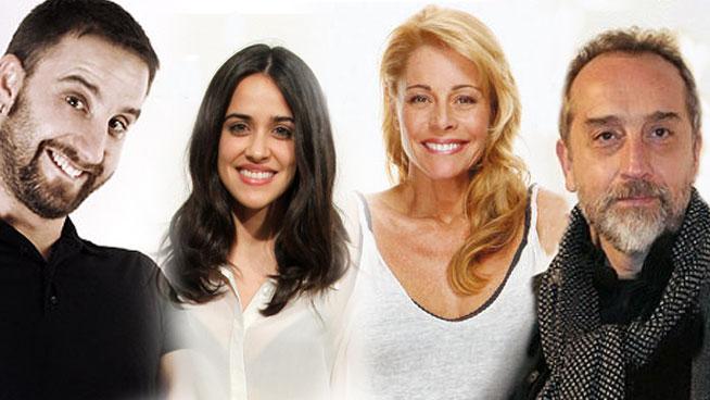 Dani Rovira, Macarena García, Belén Rueda y Gonzalo de Castro en la serie 'B y B'