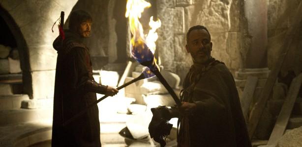 David Janer y Javier Guti%C3%A9rrez en una escena de la serie %C3%81guila Roja de La 1 de TVE. Águila Roja 5x05