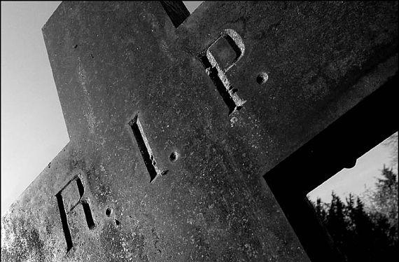 Imagen de una tumba
