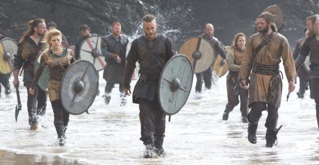 Vikings 1x03 y 1x04