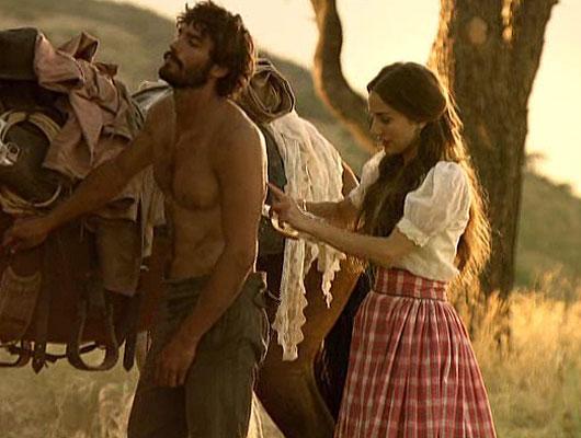 Escena de anteriores temporadas de 'Tierra de Lobos' de Telecinco.