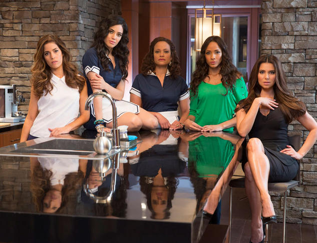 Algunas de las protagonistas femeninas de 'Criadas y malvadas'.