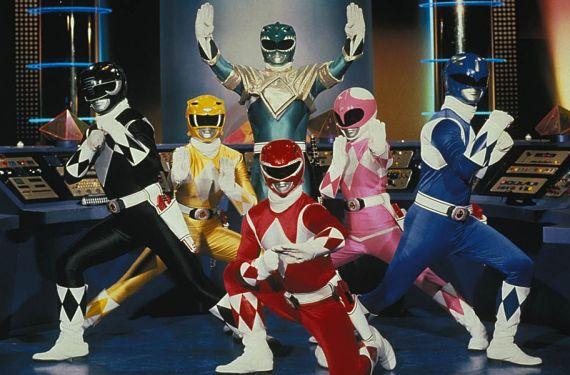 Foto de los Power Rangers