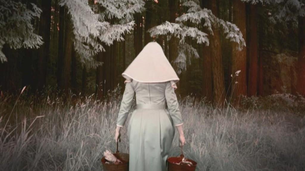 Cartel de la serie dramática de terror 'American Horror Story Asylum'.