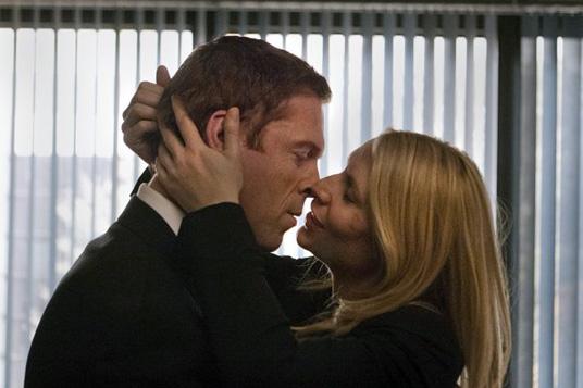 Claire Danes es Carrie Mathison en la serie de Cuatro Homeland.. Homeland 3x08