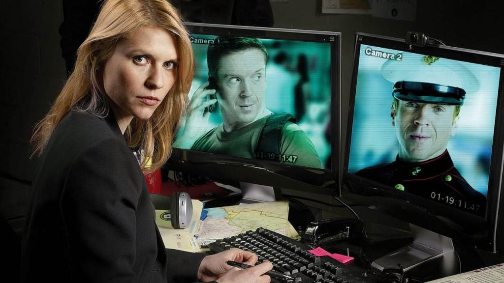 Claire Danes es Carrie Mathison en la serie 'Homeland'.