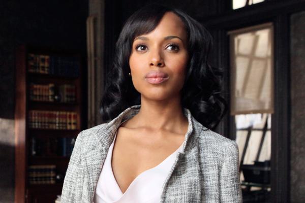 La actriz Kerry Washington encabeza el reparto de la serie Scandal. Scandal 2x06 y 2x07: Espías como nosotros y Desafío