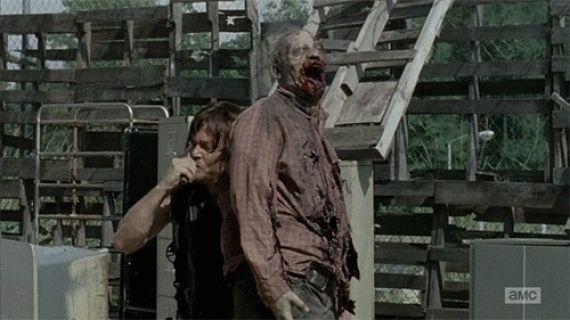 handoff opt El Epic Win de Daryl en el 4x08 de The Walking Dead
