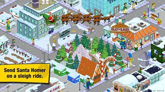 Ya es navidad en Springfield