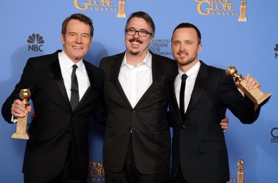 'Breaking Bad' se alzó como triunfadora en los Globos de Oro