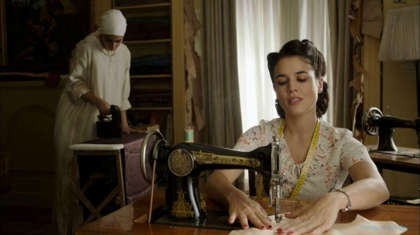 El tiempo entre costuras El tiempo entre costuras gran vencedora de los Premios Iris 2014