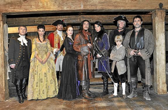 Telecinco prepara la serie piratas