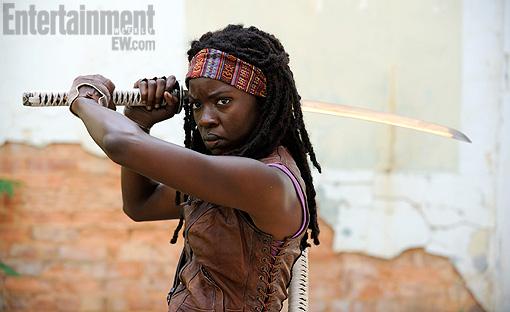 Danai Gurira como Michonne