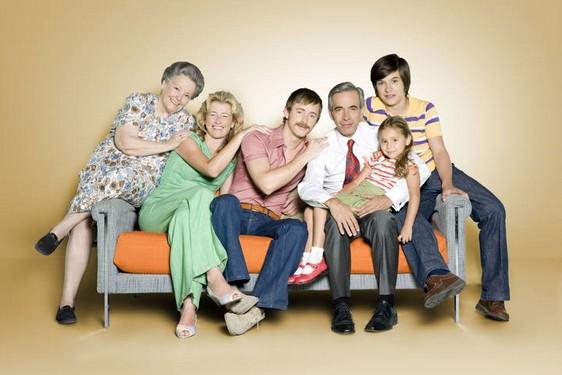 Imagen de la entrañable familia Alcántara en 'Cuéntame cómo pasó'.