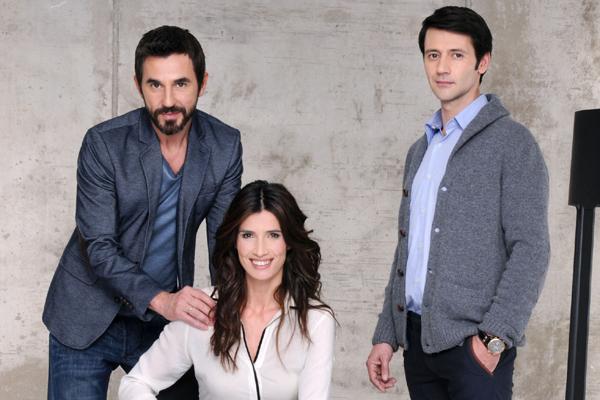 Santi Millán, Elia Galera y Fran Norte en 'Frágiles'