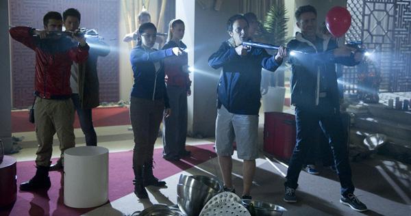 Escena de la tercera temporada de 'El Barco'